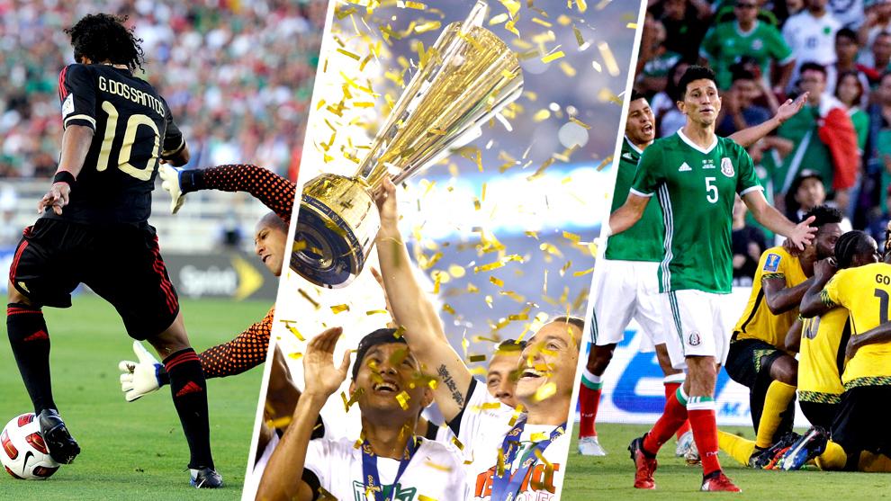 La selección mexicana tiene un historial positivo en Copa Oro.