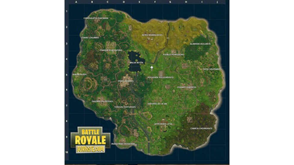 Fortnite Las Mejores Zonas Para Lootear En El Mapa De Fortnite Marca Com