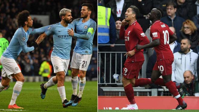 City y Liverpool.