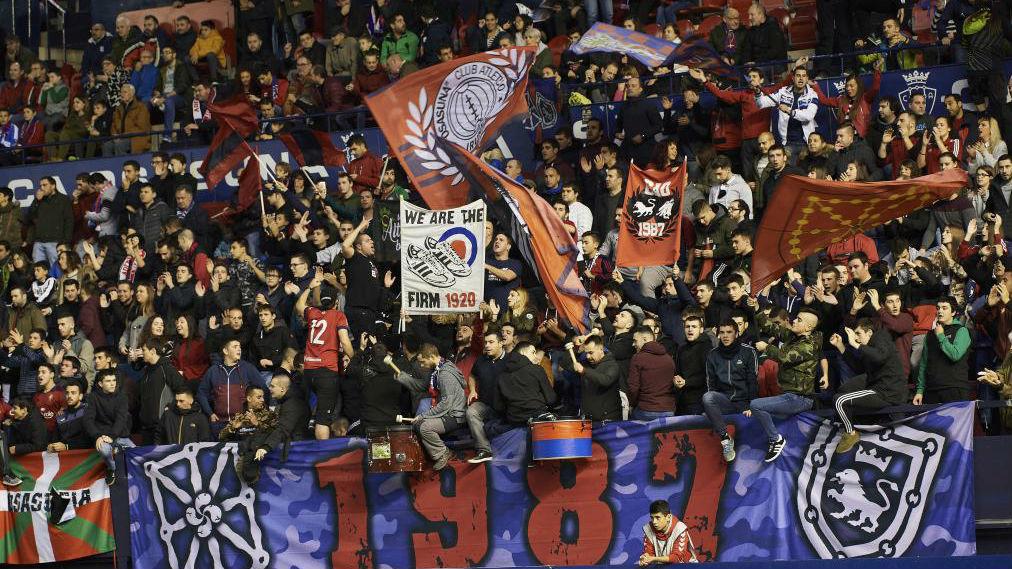 Antiviolencia propone cerrar el estadio de Osasuna dos meses