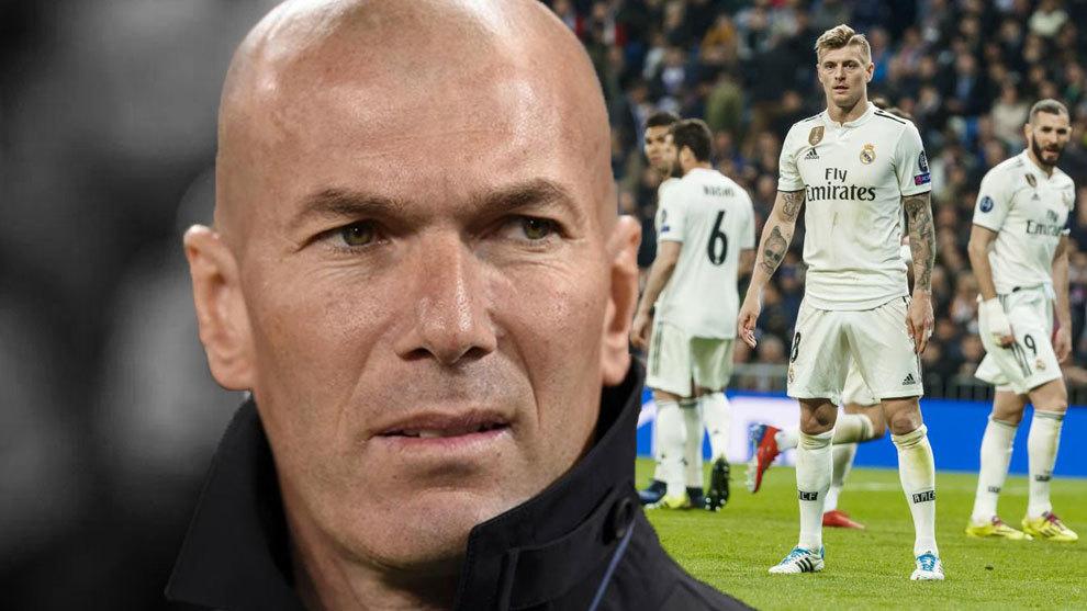 Zinedine Zidane has plenty of work to do