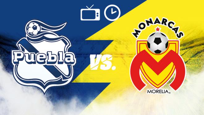 Puebla vs Monarcas: Horario y dónde ver.