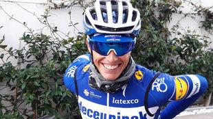 Enric Mas, el pasado mes de enero en Calpe.