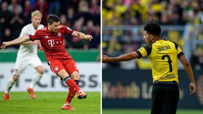Lewandowski y Sancho.