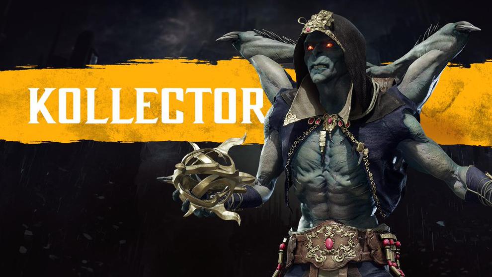 Mortal Kombat 11 muestra trailer y a su nuevo guerrero, The Kollector