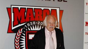 Virgilio Hernández Rivadulla, durante el 75 aniversario de MARCA
