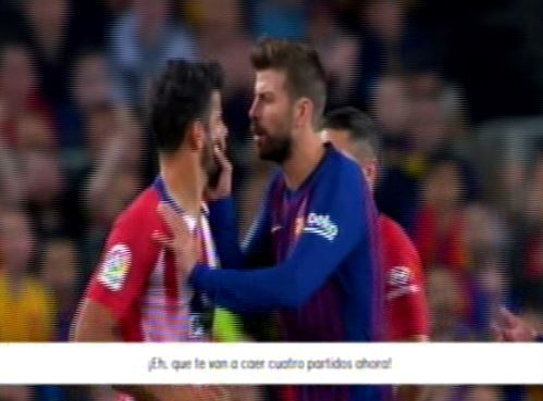 Диего Коста обматерил судью в игре с Барселоной - изображение 1