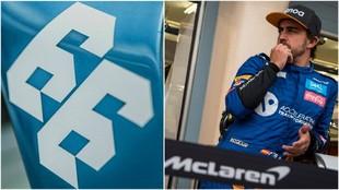 Fernando Alonso y el '66' con el que correrá la Indy500.