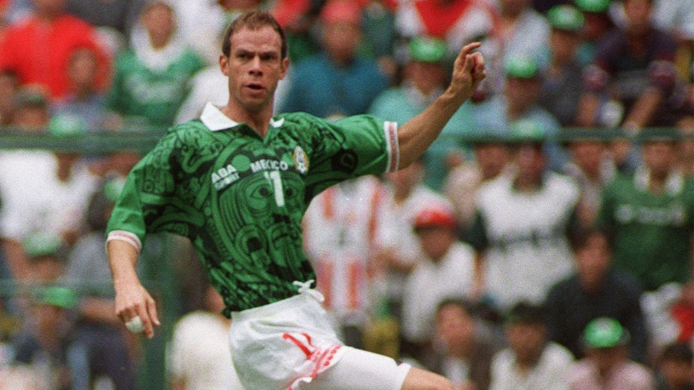 Zague con la selección mexicana de fútbol