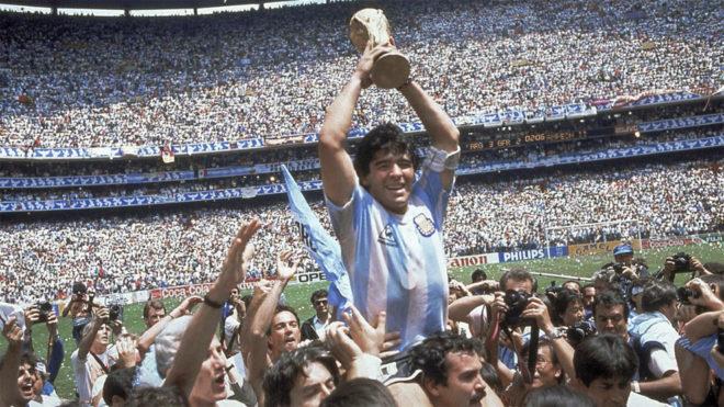 Maradona hizo historia en el Mundial de México 1986