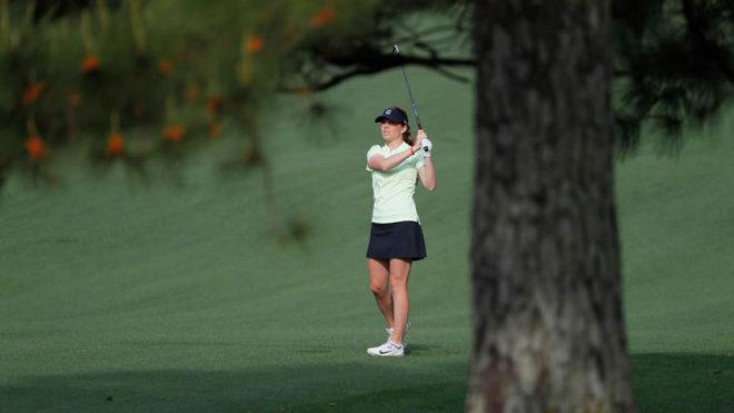 Ainhoa Olarra, en el Augusta National Women's Amateur.