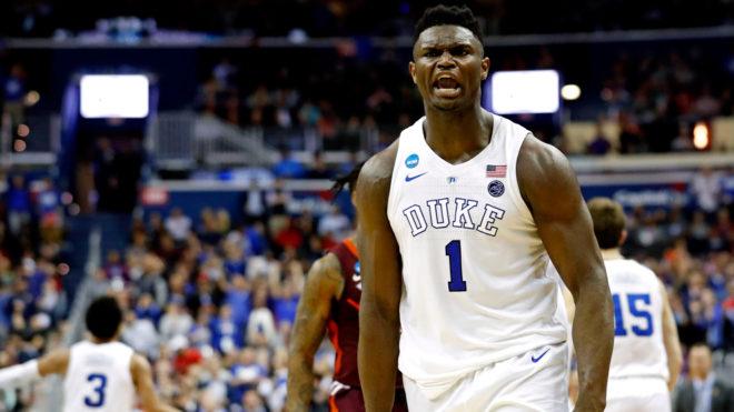 Zion Williamson destacó con Duke en este año de la NCAA