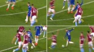 El golazo de Hazard.