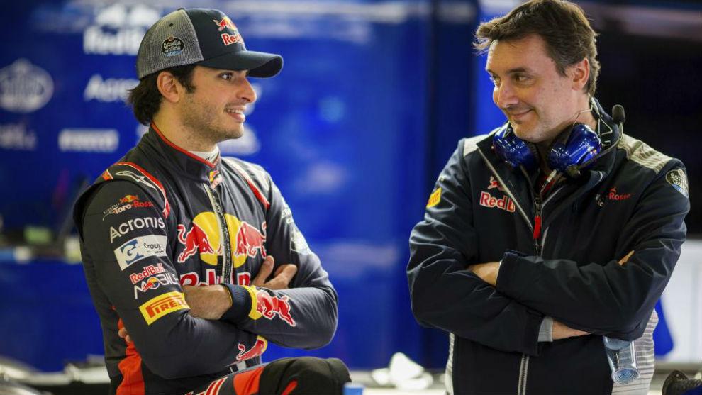 Sainz y Key, en Toro Rosso.