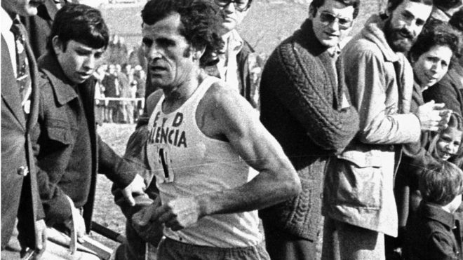 Mariano Haro, en carrera