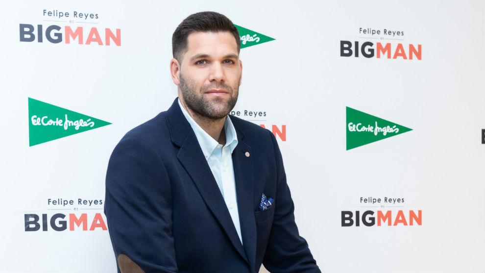 Felipe Reyes, durante la presentación de la campaña Big Man de...