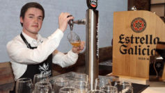 Miguel Pampín, estudiante de hostelería de Santiago de Compostela