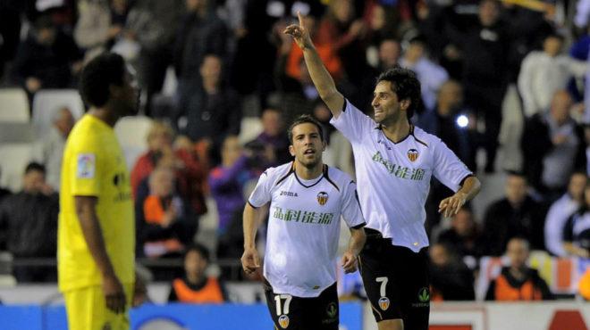 Valencia derrotó a Villarreal de Carlos Bacca en Europa League
