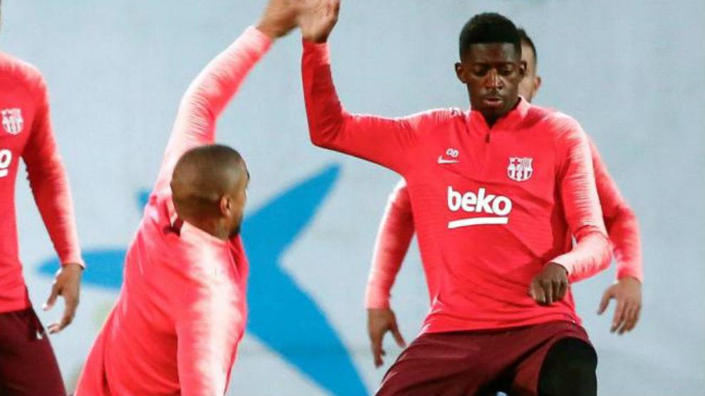Dembélé recibe el alta médica y estará disponible ante el Manchester United