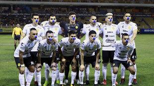 Dorados previo a un partido.
