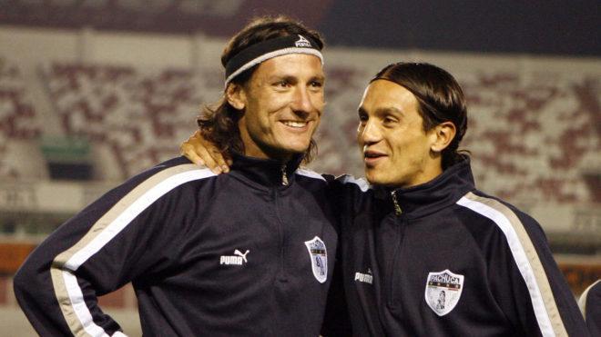 Gabriel Caballero junto a Andrés Chitiva.