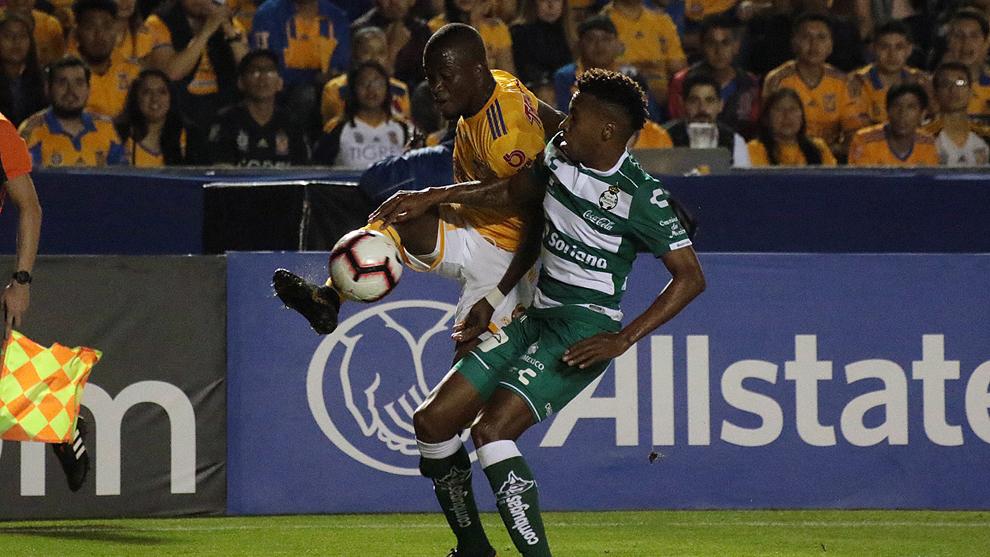 Santos y Tigres buscan la final de la Concachampions.