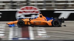 El McLaren #66, de estreno en Texas
