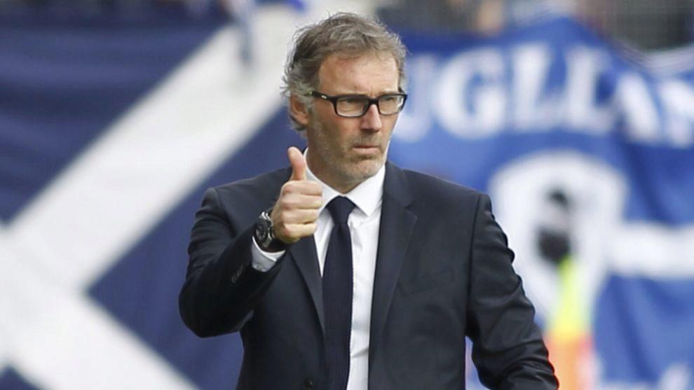 El entrenador francés Laurent Blanc.
