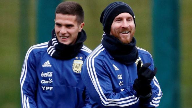 Fabricio Bustos revela su cruce con Messi: ''Le pedí perdón''