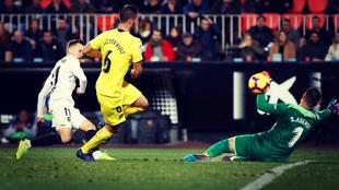 El Valencia se llevó el último duelo ante el Villarreal por 3-0.
