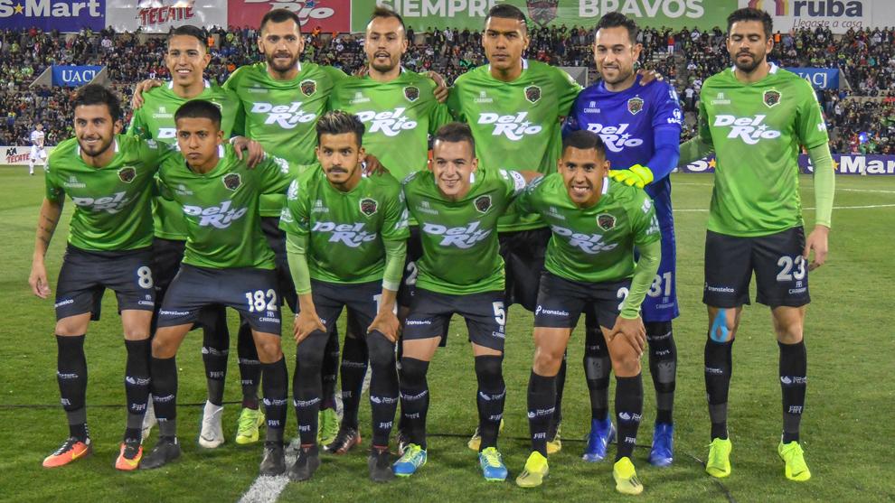 Foto oficial del FC Juárez previo a la semifinal de Copa MX ante...