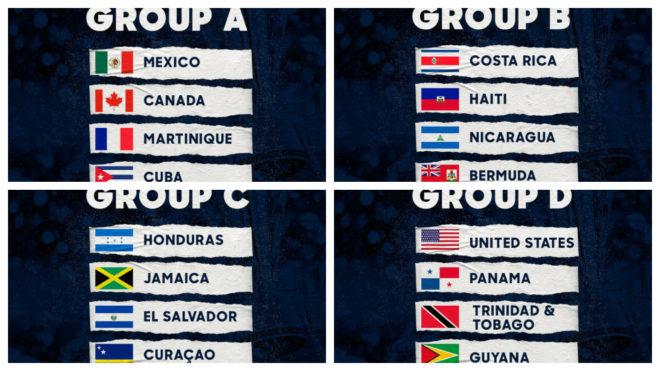 99789cca79f6 Copa Oro 2019  La Concacaf da a conocer los grupos de la Copa Oro ...