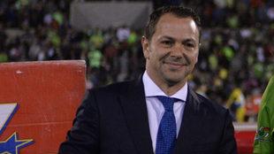 Santiago Baños quiere un equipo de época.