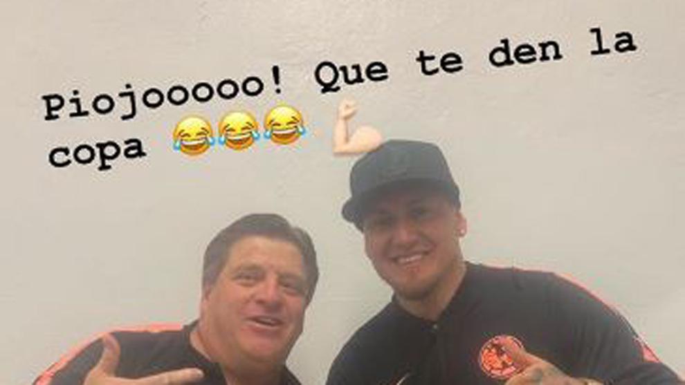 Nicolás Castillo hizo referencia a un desencuentro previo con Miguel...