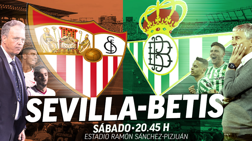 Sevilla - Betis: horario y dónde ver hoy en directo por televisión