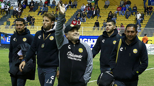 Diego Maradona podría dejar a DoradosImago7