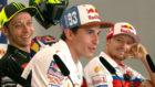 Rossi se ríe con la respuesta de Márquez en Texas.
