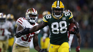 Ty Montgomery llega a los Jets.