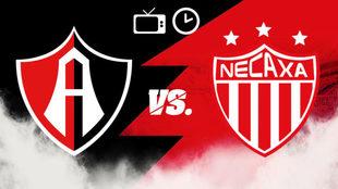 Atlas vs Necaxa: Horario y dónde ver en TV en vivo