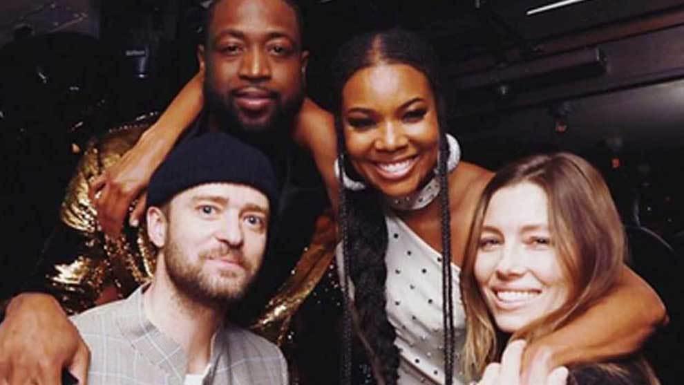 Justin Timberlake y Jessica Biel fueron dos de los invitados estrella...