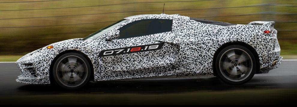 El nuevo Corvette C8 tendrá motor central trasero.