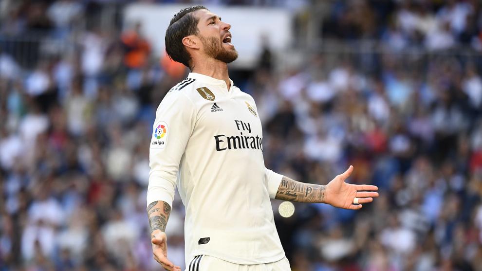 Sergio Ramos sufre una lesión el sóleo izquierdo