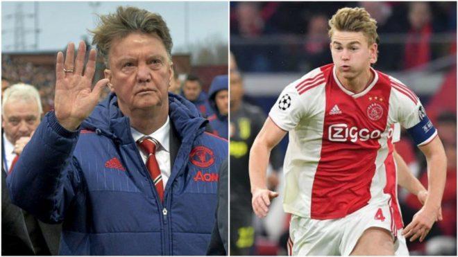 Louis van Gaal and Matthijs de Ligt