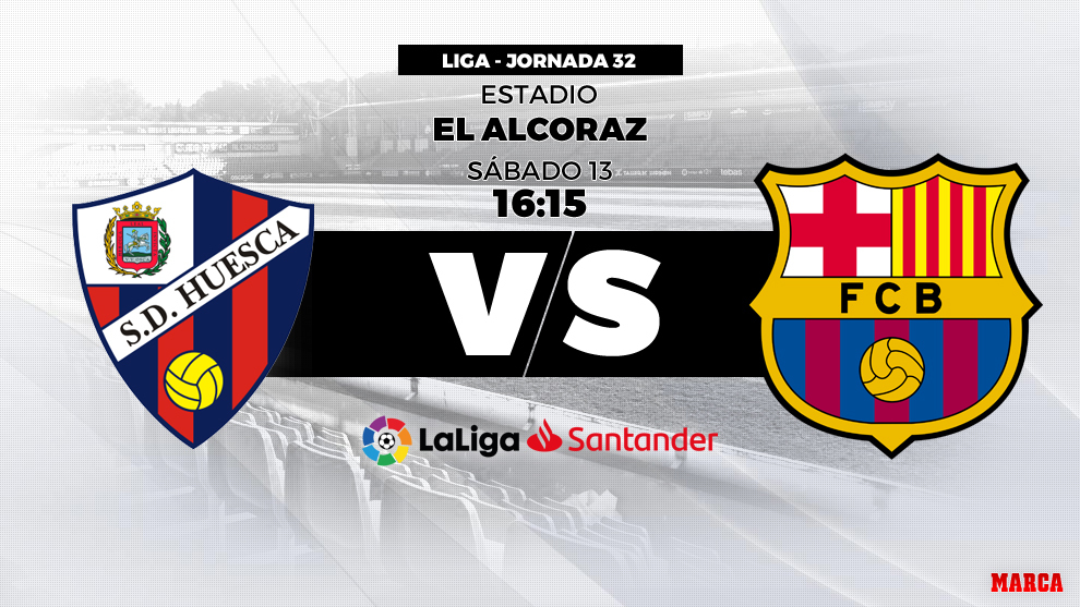 Huesca - Barcelona: Horario y dónde ver hoy en directo por...