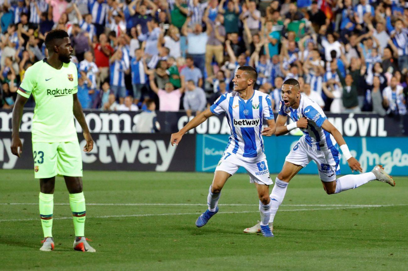 El Barcelona sufrió su primera derrota en Liga en Leganés tras una...