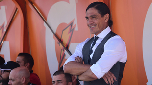 Juan Francisco Palencia habló sobre el partido de Lobos frente a...