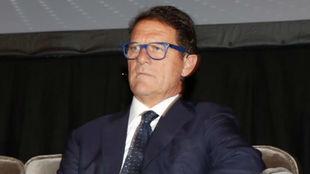 Fabio Capello en el World Soccer Congress.