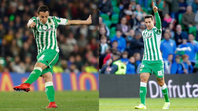 Andres Guardado and Cristian Tello