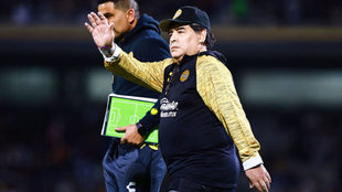 Maradona se molestó