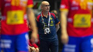 Jordi Ribera durante un partido del pasado Mundial /